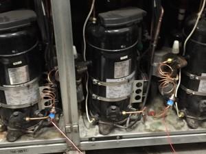 冷凍機電力量測定
