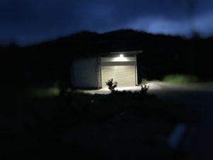 防犯用LEDライト