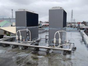 冷媒リアクターパイプ「TOP-Eco」 GHP(ガスヒートポンプ)導入事例