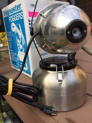 消臭処理 電動噴霧器
