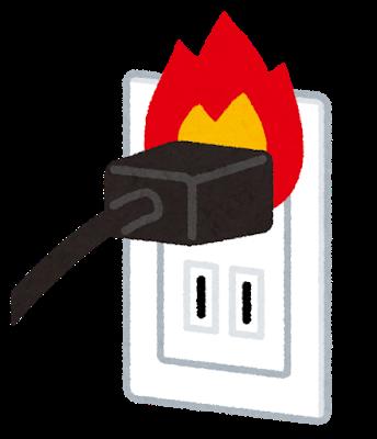 コンセント火災